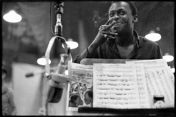 Don Hunstein - Miles Davis, New York City, July, 1958