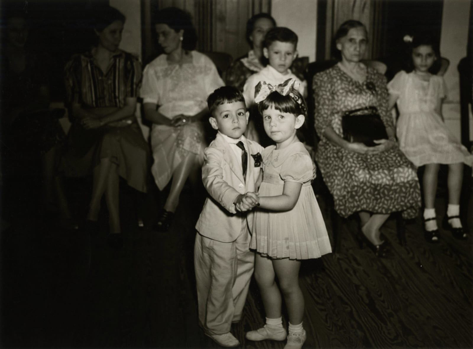 Jack Delano - untitled (two kids dancing), 1942