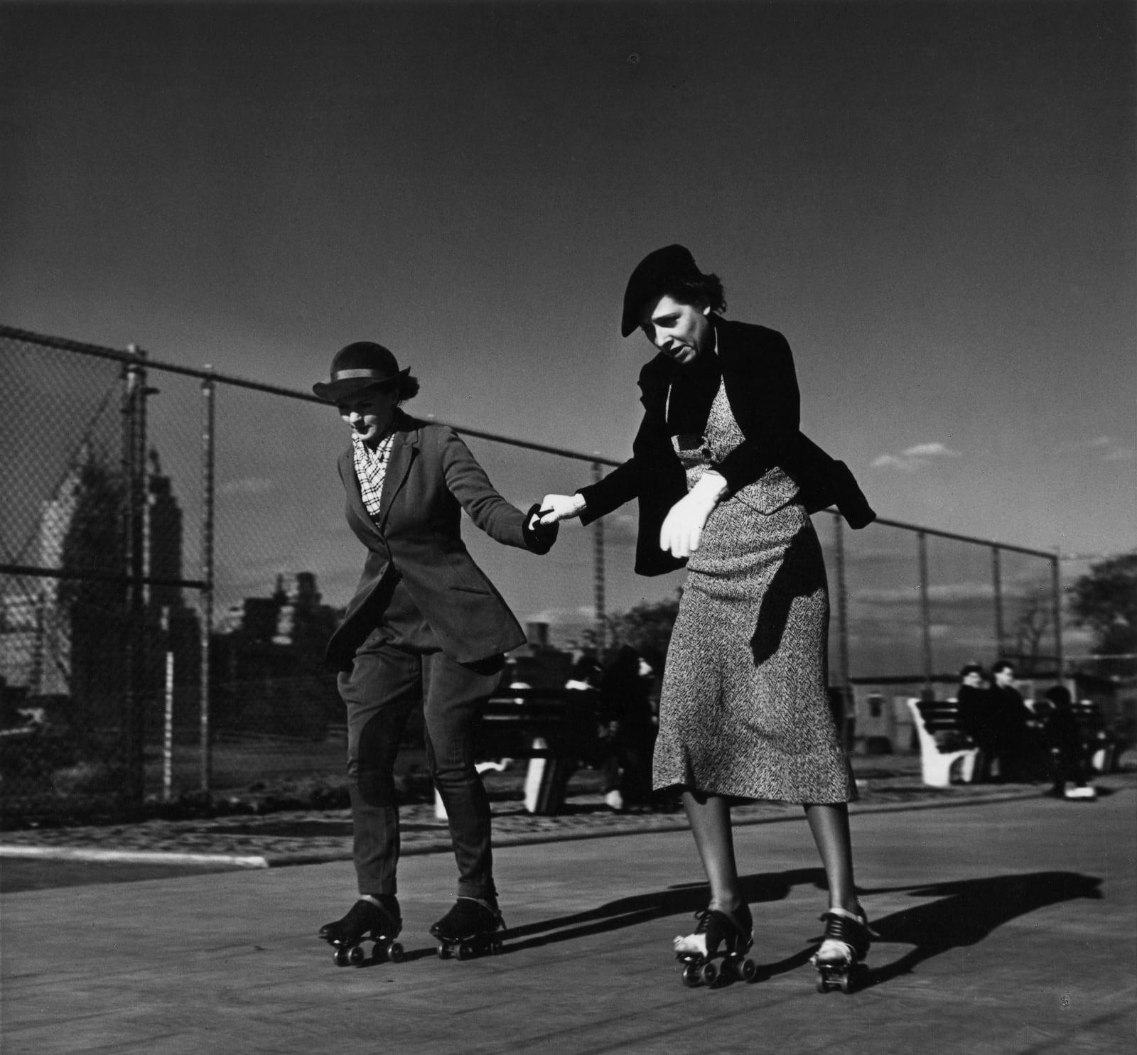 John Gutmann - The Lesson, Central Park, New York, 1936