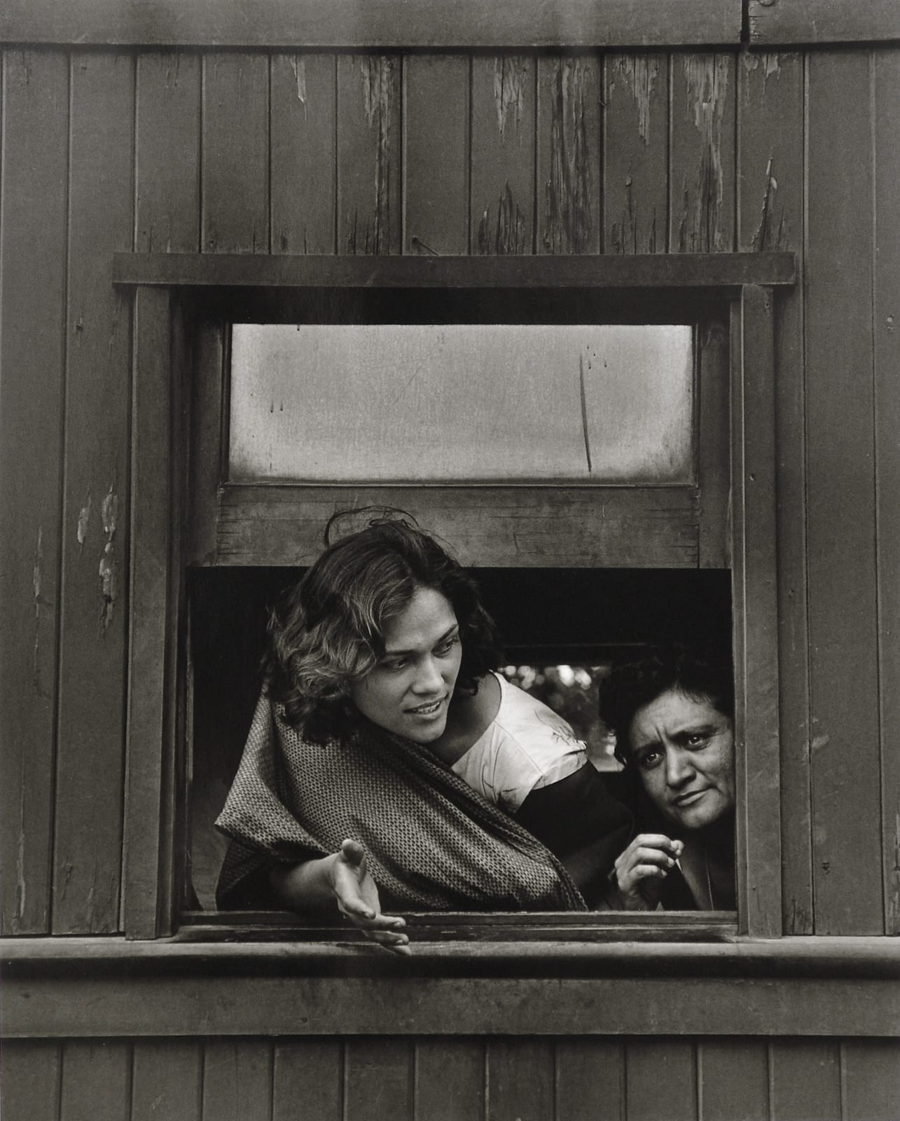Rodrigo Moya - La Muchacha, Tren viejo México-Cuautla, 1966
