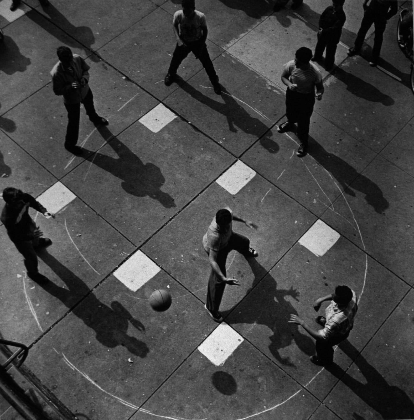 SOLD: Arthur Leipzig - Dodge Ball, NYC, 1950