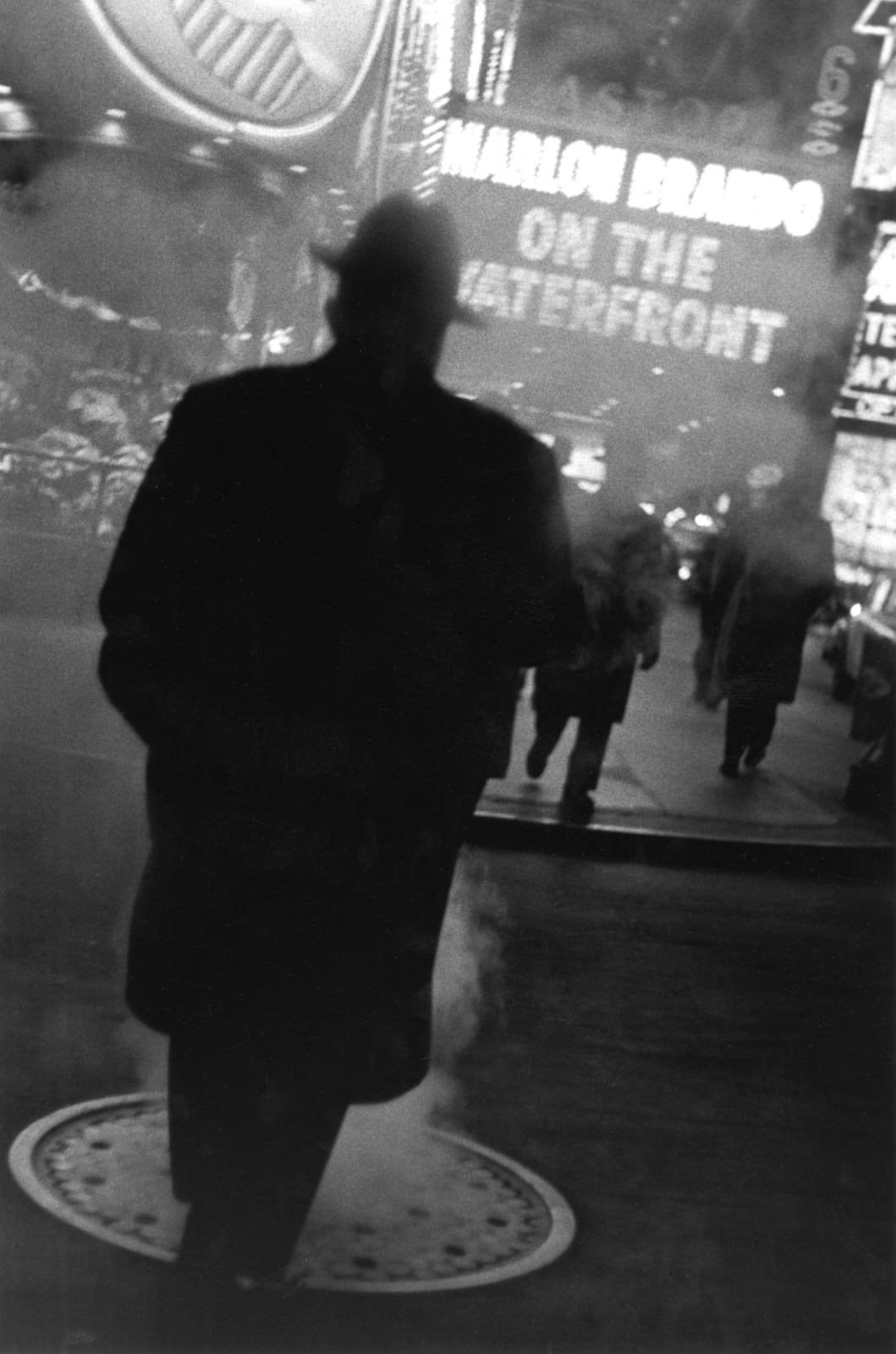 Louis Stettner - The Great White Way, New York, 1954