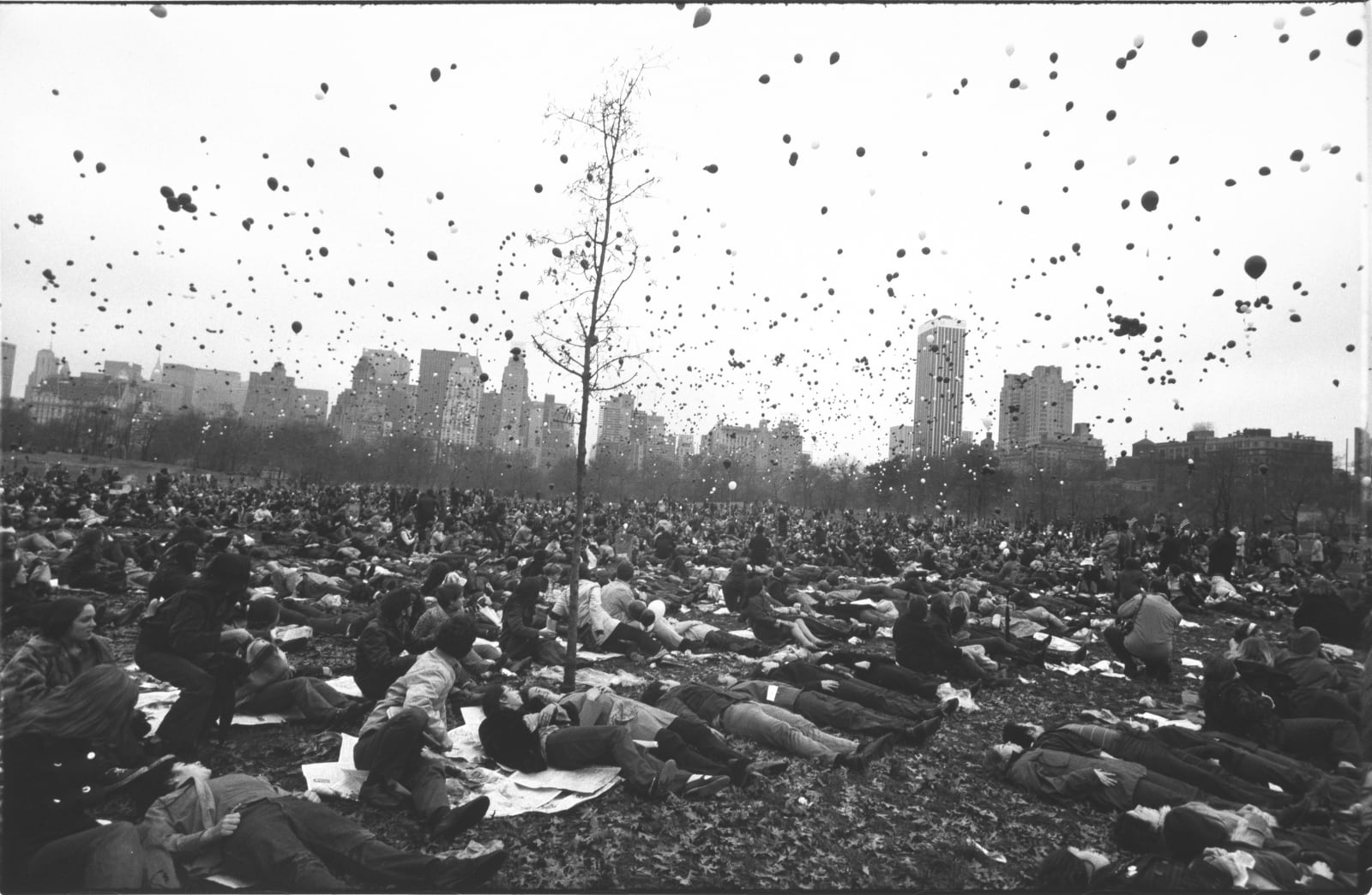 Garry Winogrand - Peace Demonstration, Central Park, New York, 1970