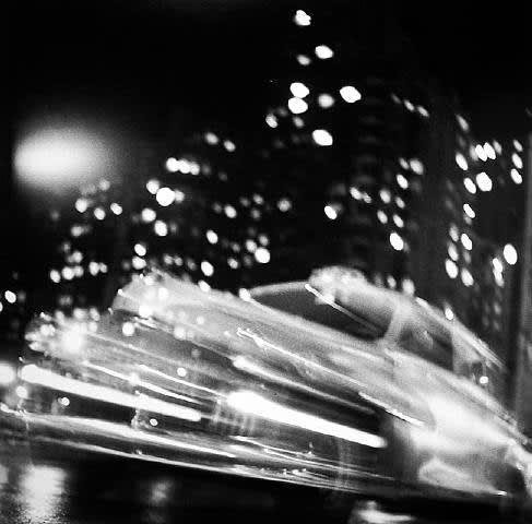 Ted Croner - Taxi, New York, Night, c. 1947-48