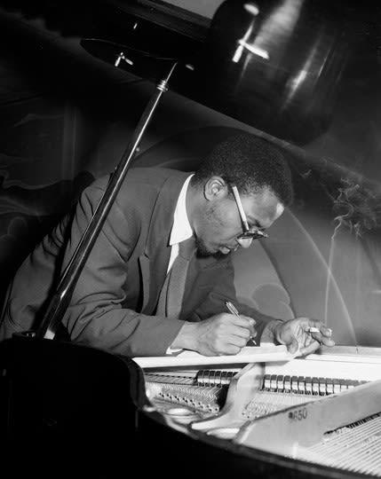 Herman Leonard - Thelonius Monk, Minton's Playhouse, New York City, 1949