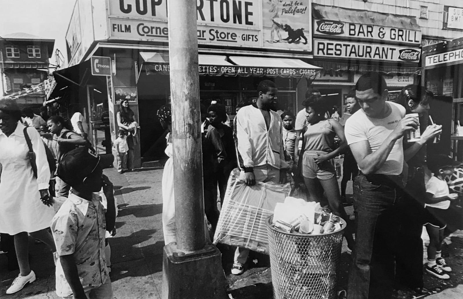 William Klein - Corner Store, Coney Island, 1980