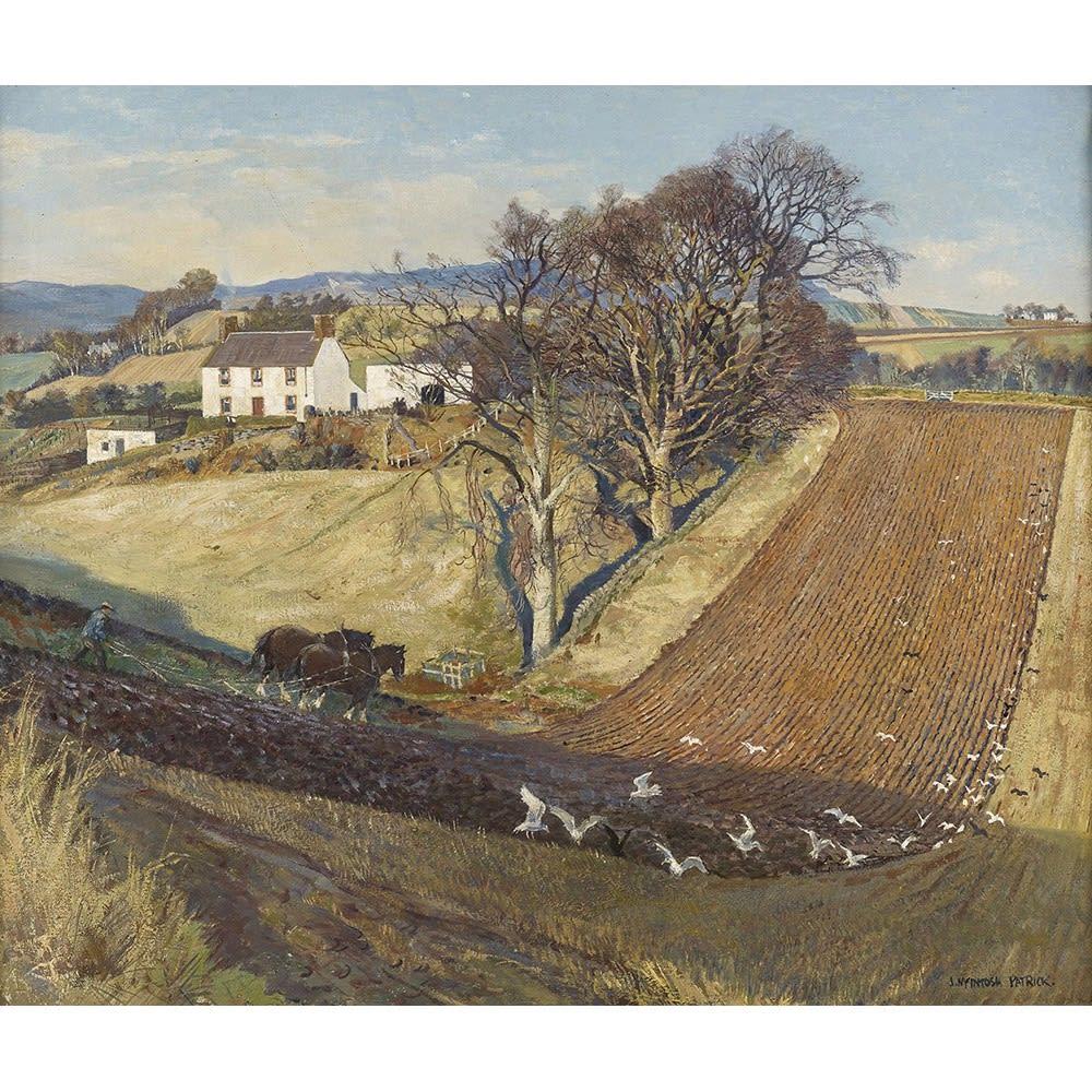James McIntosh Patrick RSA, December ploughing