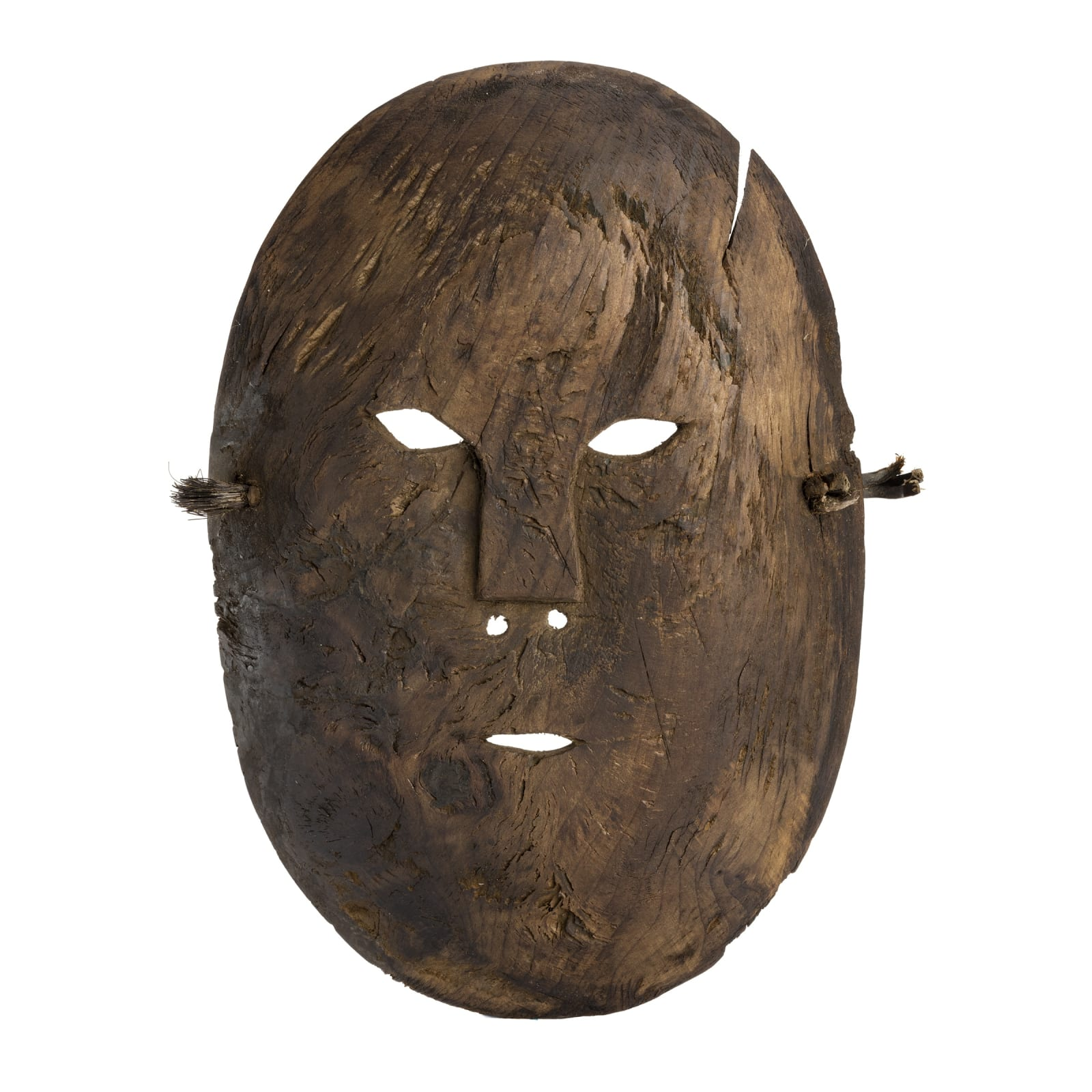 UNIDENTIFIED, Possibly Inupiaq, Point Hope, Alaksa Mask, c. late 19th century REALIZED: $1,920