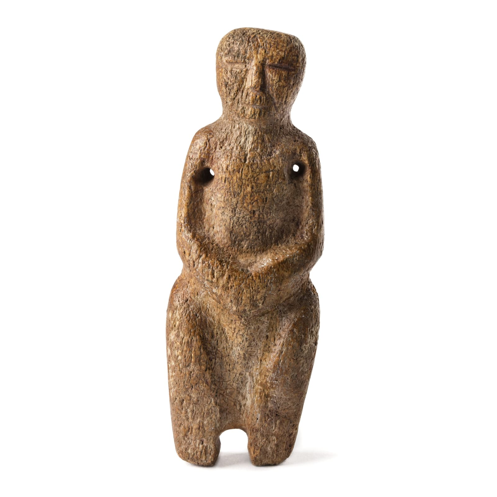 Possibly Late Punuk or Thule Culture, Alaska or Canada Standing Female Figure, 1000-1400 A.D. REALIZED: $5,520
