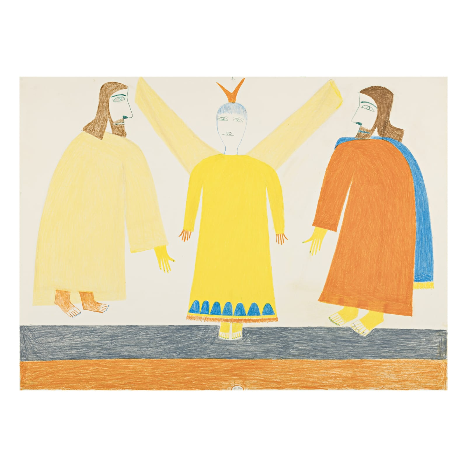 JESSIE OONARK, O.C., R.C.A (1906-1985) QAMANI'TUAQ (BAKER LAKE) Untitled REALIZED: $4,320