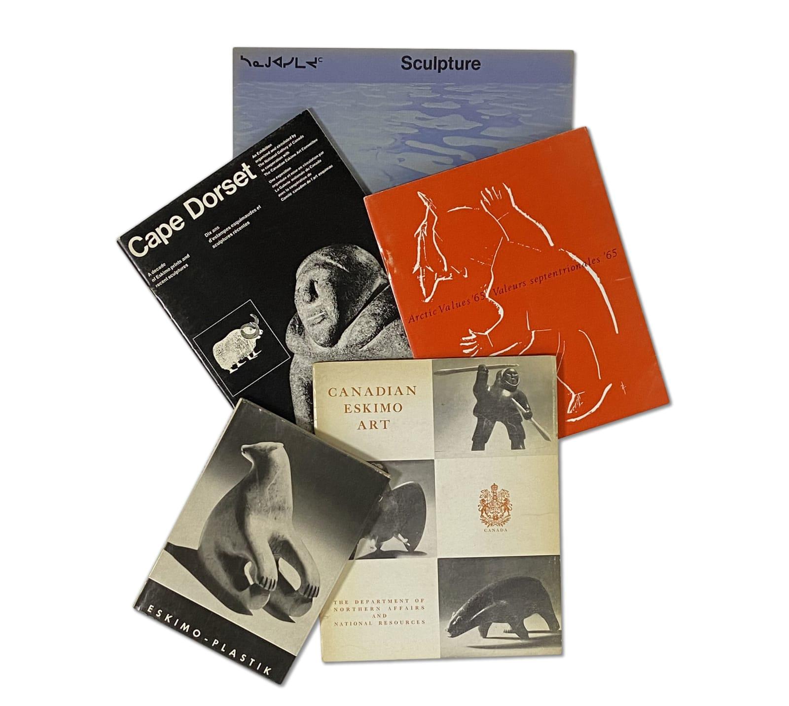 Lot 85 Quantity of Inuit Art Publications Estimate: $100 — $150 PRICE REALIZED: $120