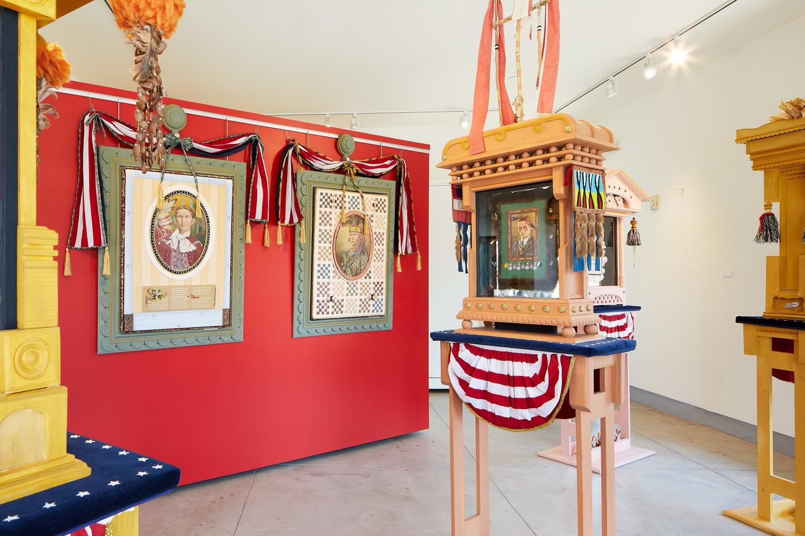 Tamara Burgh installation view