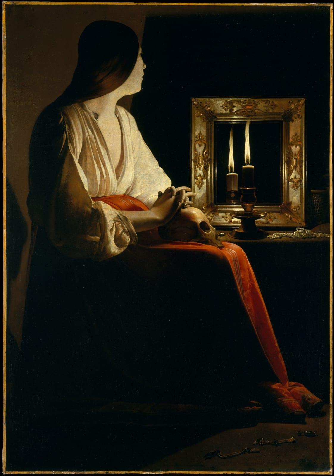Georges de La Tour The Penitent Magdalen, ca. 1640 Courtesy of The Metropolitan Museum of Art, New York.