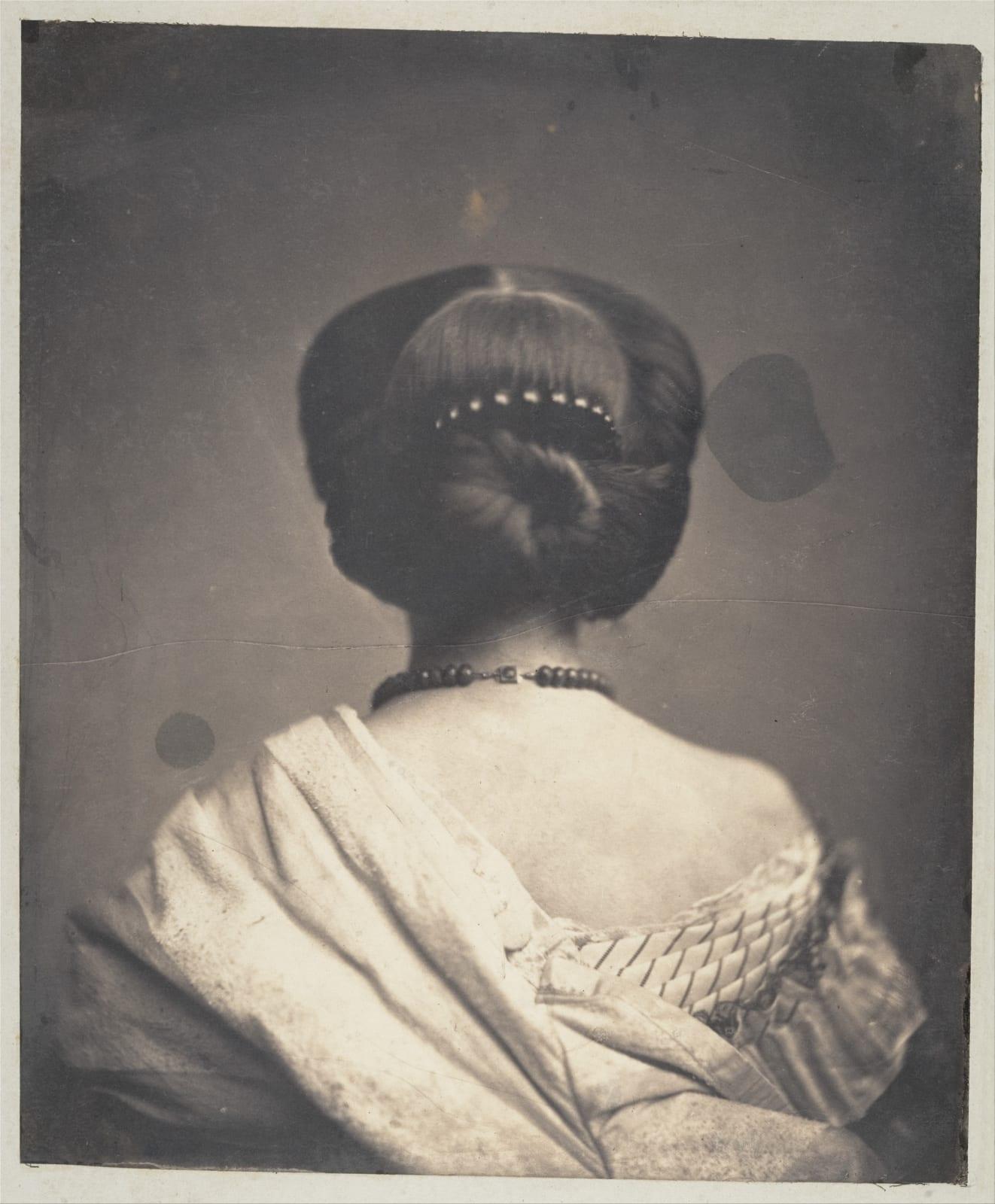 Onésipe Aguado de las Marismas Woman Seen from the Back, ca. 1862 Courtesy of The Metropolitan Museum of Art, New York.