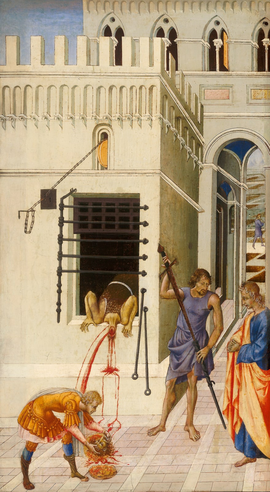 Giovanni di Paolo The Beheading of Saint John the Baptist, 1455/60 Courtesy of The Art Institute of Chicago.