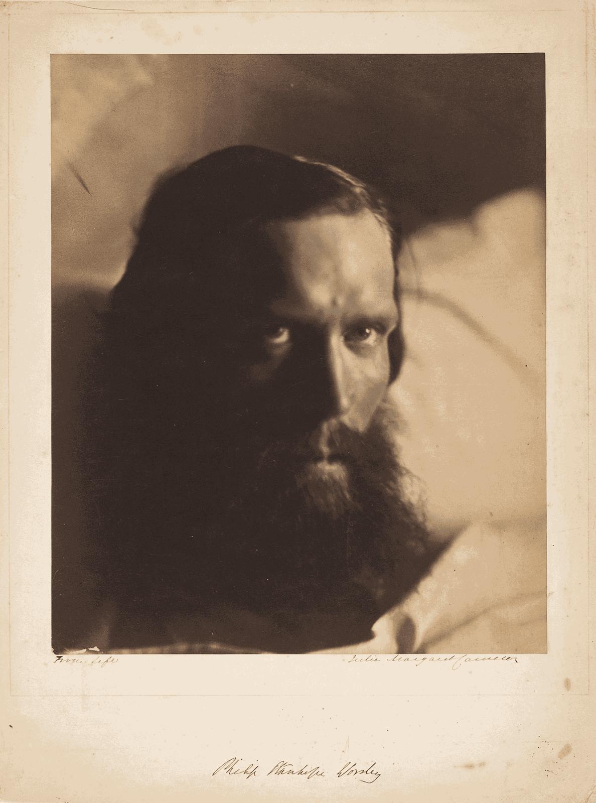 Julia Margaret Cameron Philip Stanhope Worsley, 1866 Courtesy of The Metropolitan Museum of Art, New York