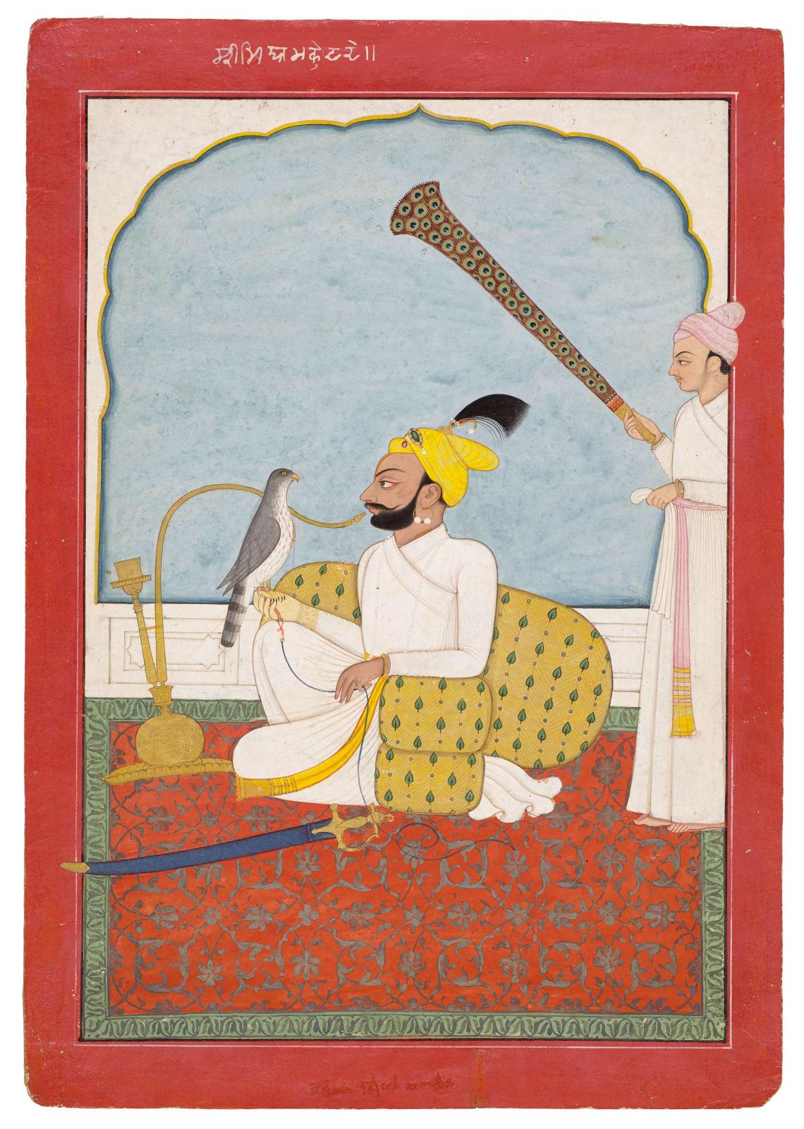 Mian Mukand Dev of Jasrota, Jasrota or Jammu, under Guler influence, c. 1740