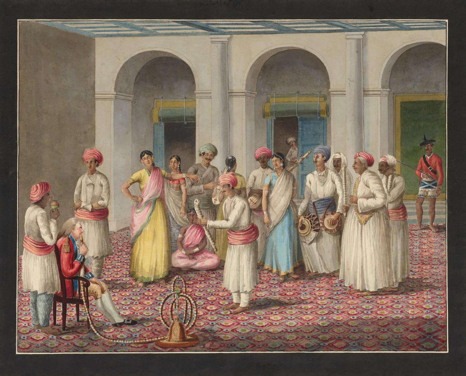 Lucknow Nautch, Murshidabad, 1795-1807
