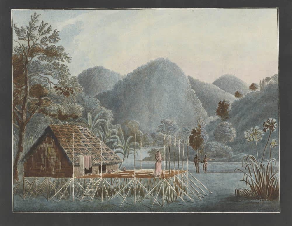 Chittagong Hills. 44.7 x 57 cm , Murshidabad, 1795–1807
