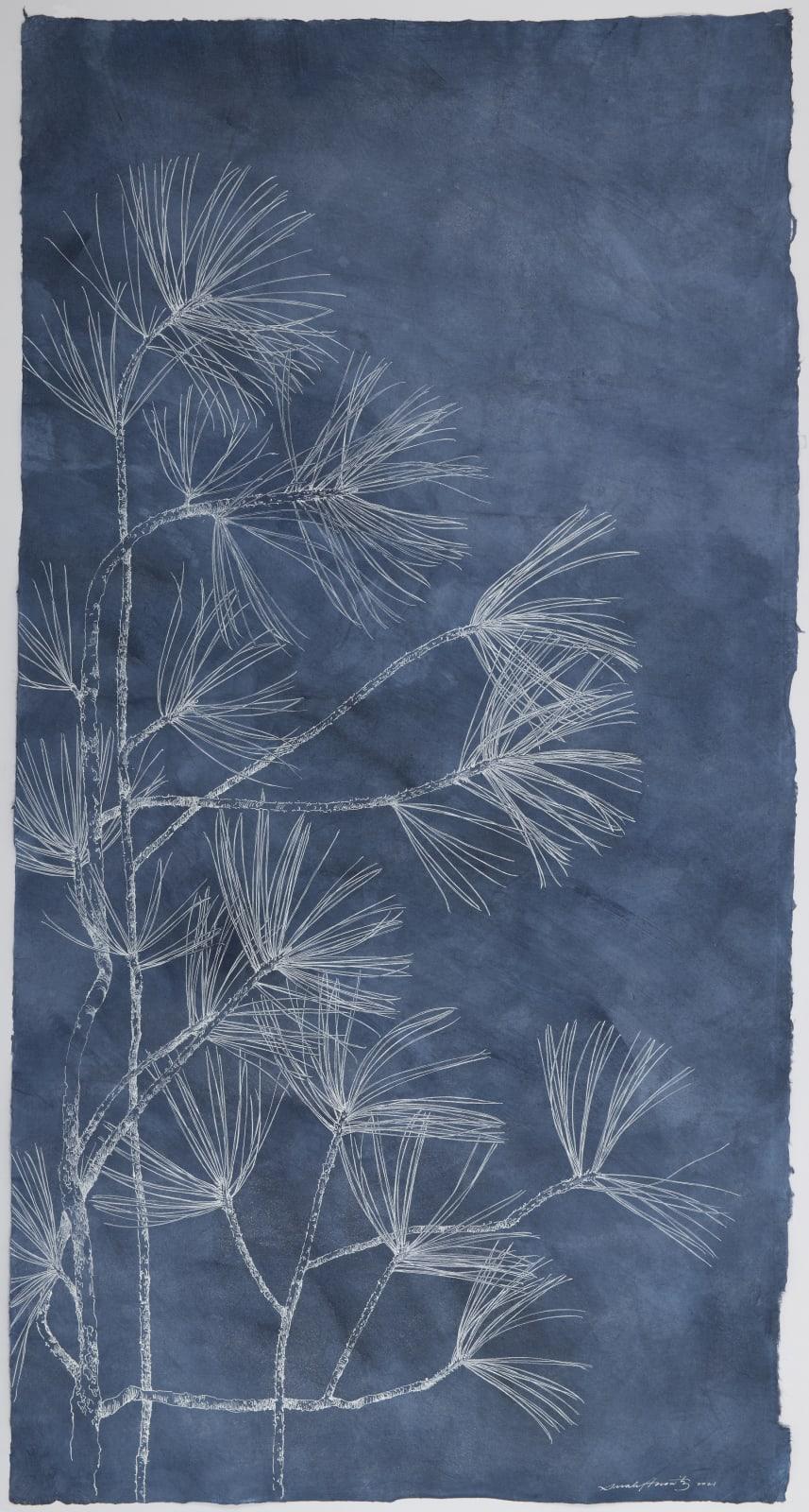 Sarah Horowitz, Dark Blue Pines I, 2021