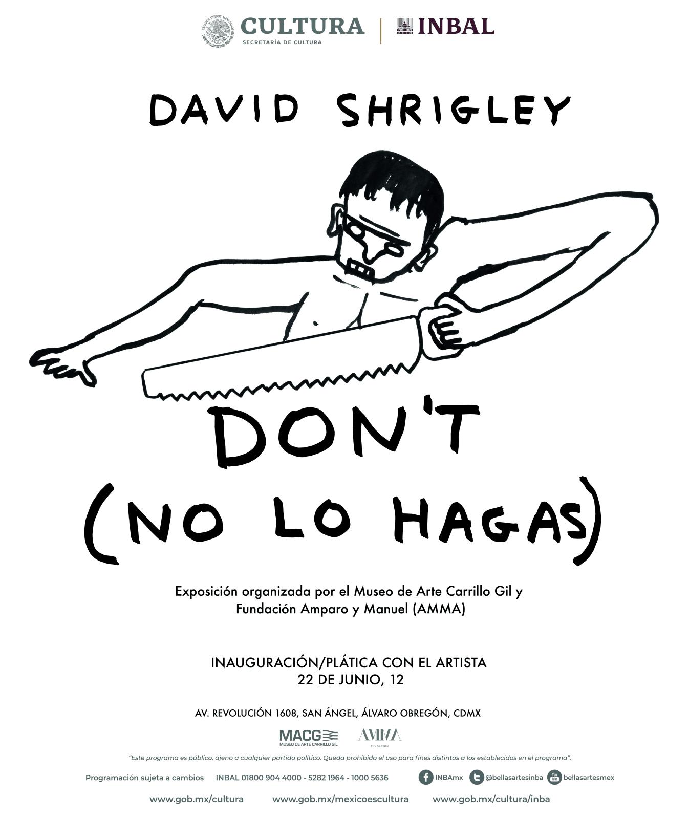 Cartel oficial de la exposición
