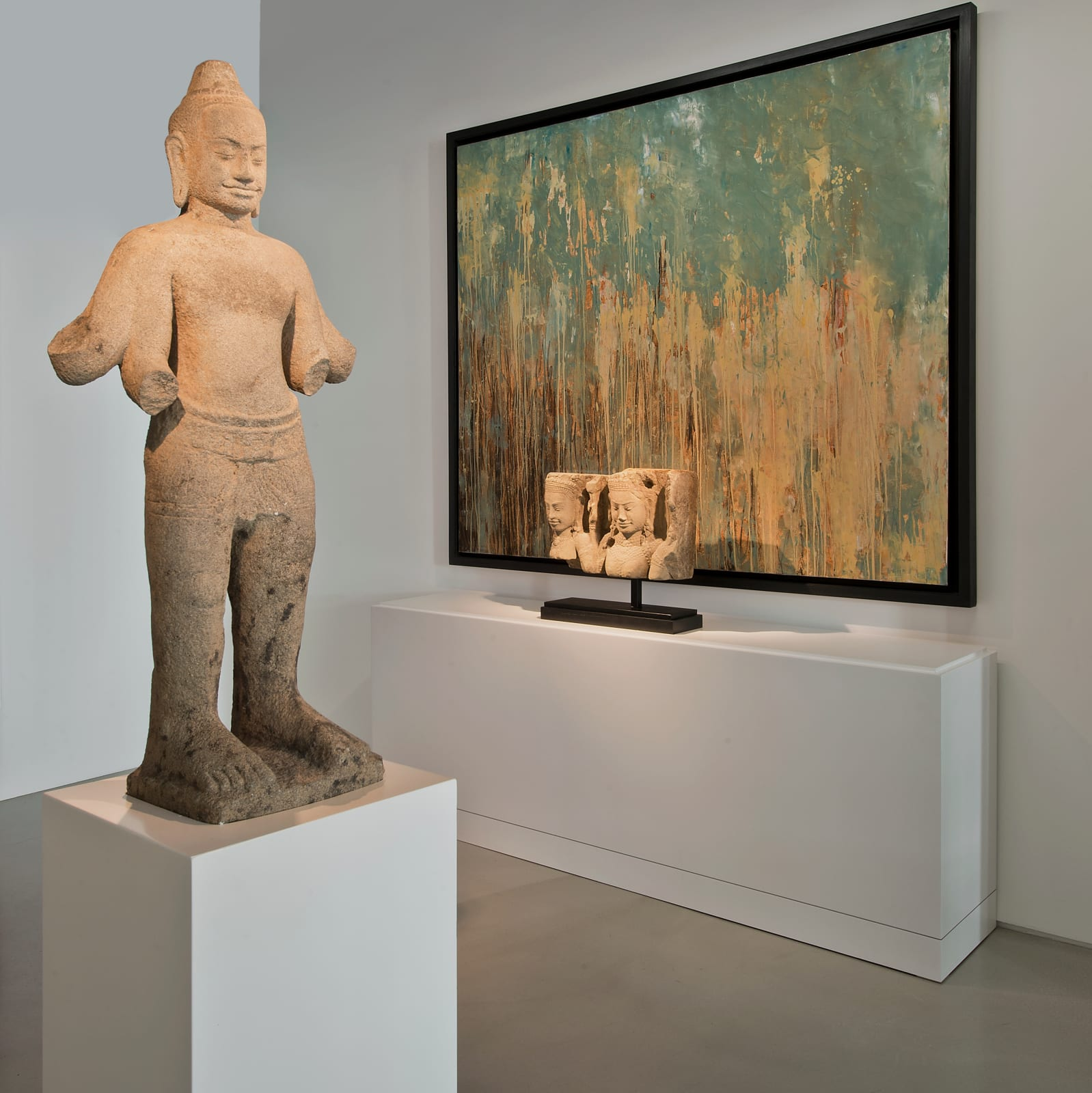 Sudaporn Teja and Khmer Sculpture