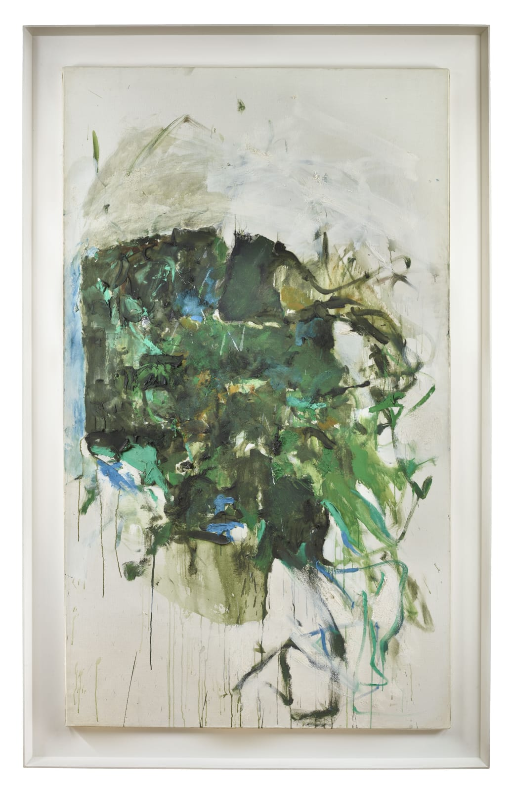 Joan MITCHELL Untitled, 1964 Oil on canvas 194.9 x 113.7 cm / 76.75 x 44.75 inches