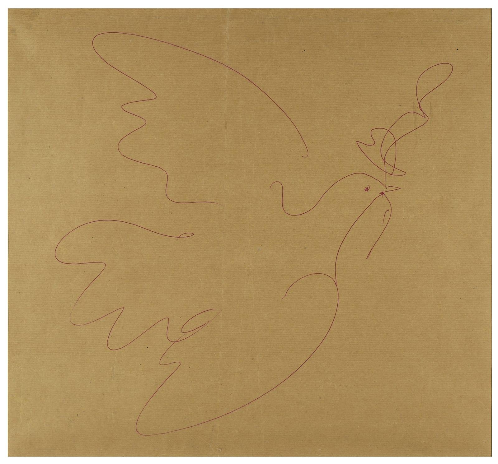 Pablo Picasso, La Colombe de la Paix, c. 1953