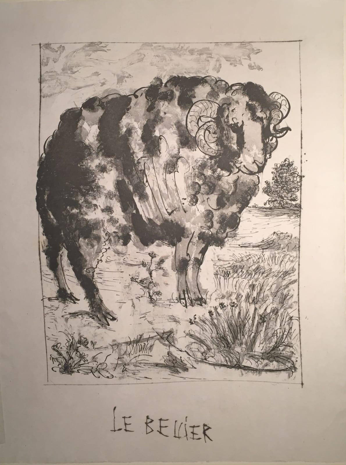 Pablo Picasso, Le Béilier, 1936- 1942