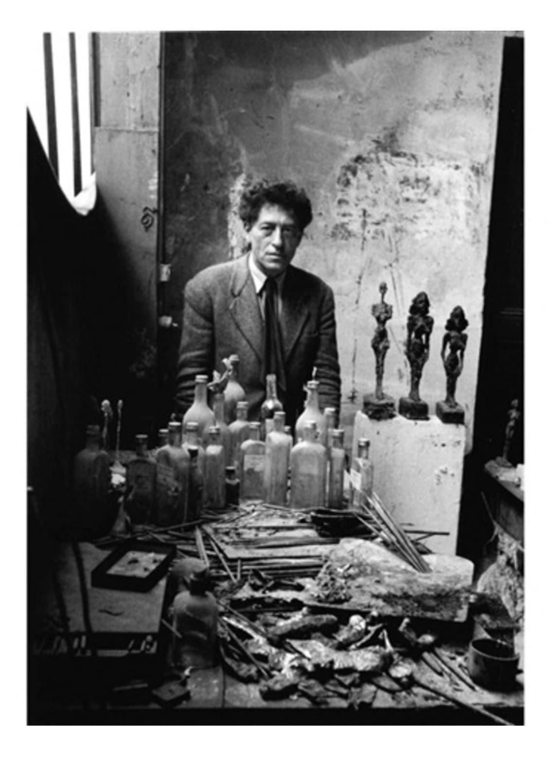 Sabine Weiss, Alberto Giacometti, 1954