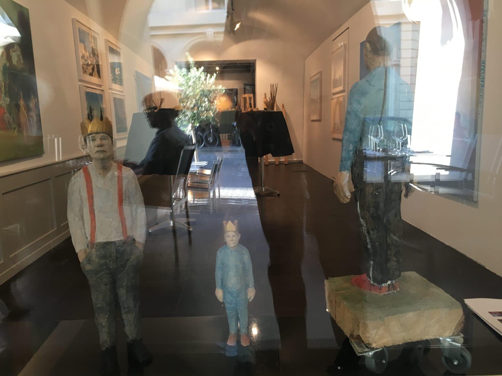 "Rosina Kuhn – ""Venezia - Venice Beach"" – Skulpturen von Johannes Hepp"