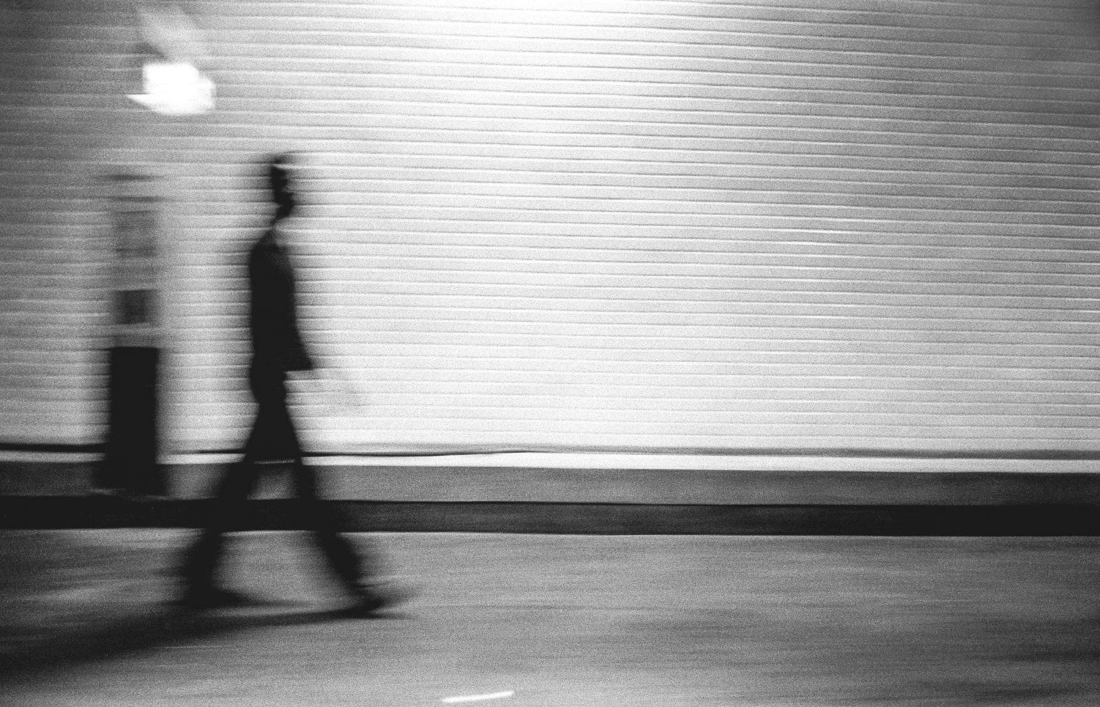 Paul Ickovic, Walking Phantom, Paris, 1980