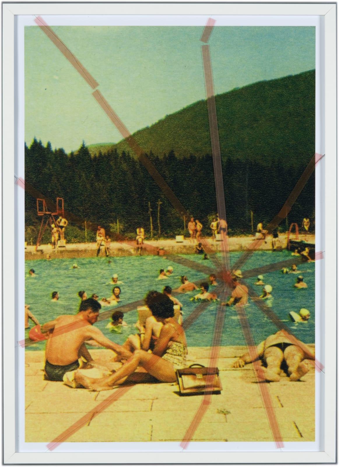 Tanja Lažetić, Nine Swimming Pools Behind Broken Glass #6, 2010 - 2019
