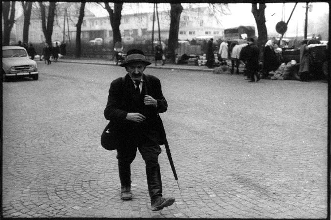 Stojan Kerbler, in the city, 1970