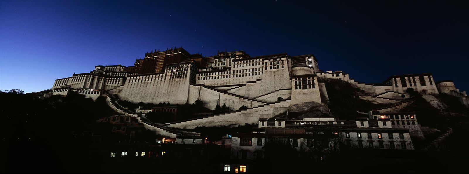 Matjaž Krivic, potala palace lhasa, tibet