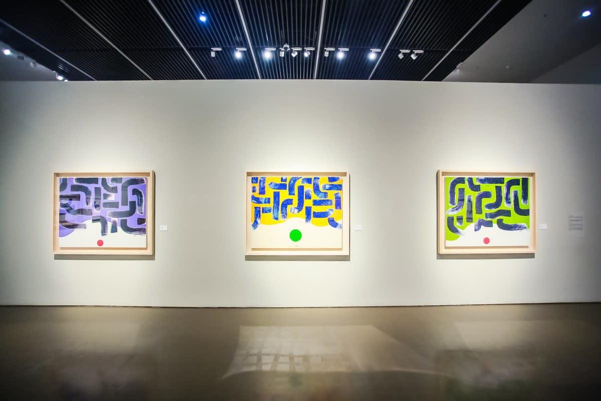 Hsiao Chin Coming Home 蕭勤回家藝術大展, China Art Museum 中華藝術宮, Shanghai 上海, 2018