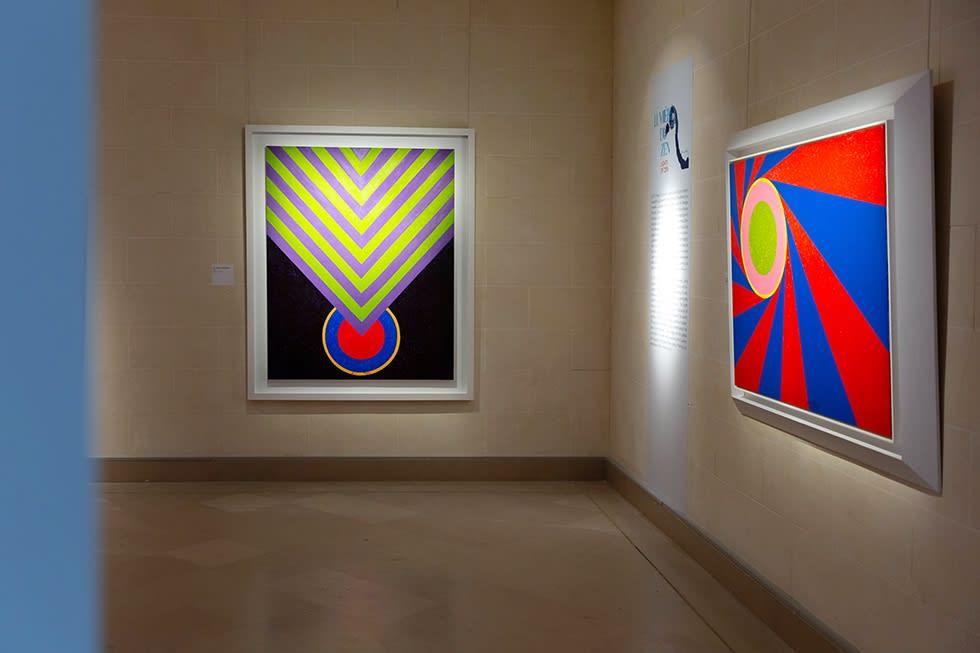 Les couleurs du Zen – Peintures de Hsiao Chin 禪色:蕭勤繪畫展, Musee Guimet 巴黎吉美國立亞洲藝術博物館, Paris 巴黎, 2019