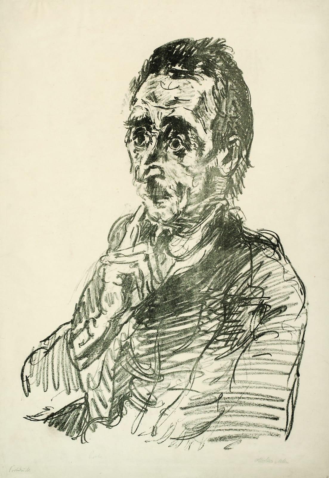 Oskar Kokoschka Ivar von Lucken, 1918