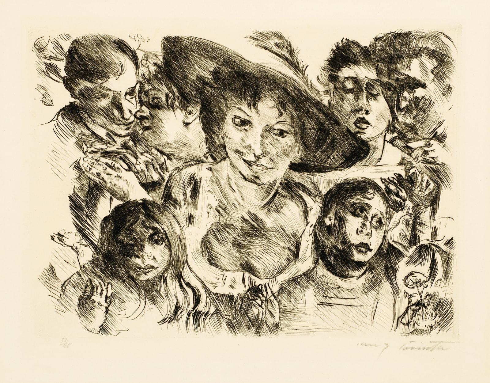 Lovis Corinth Freude am Leben (Joys of Life), 1920