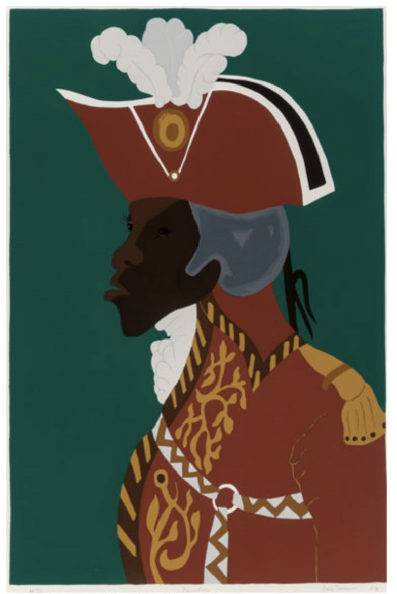 Jacob Lawrence General Toussaint L'Ouverture, 1986