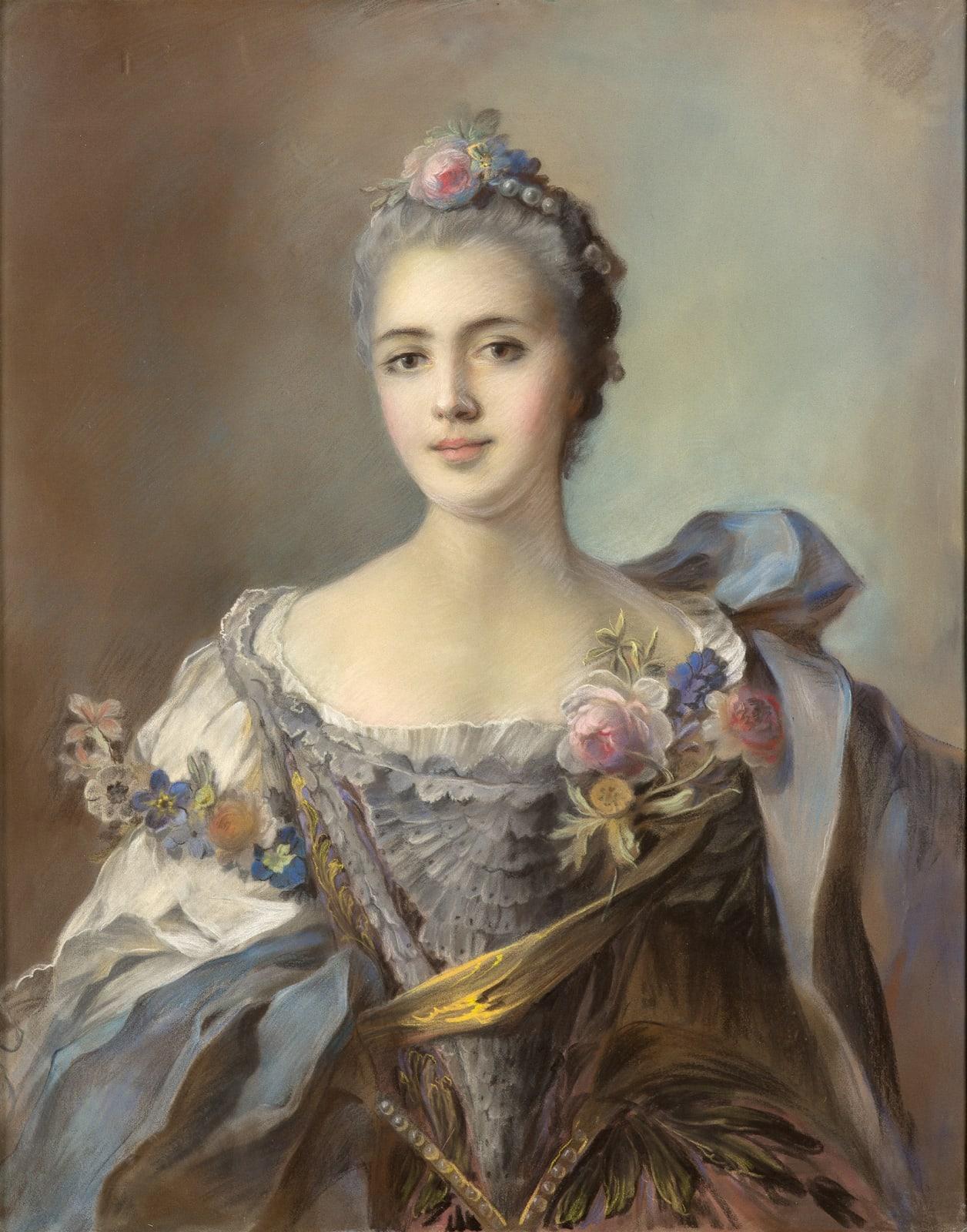 Jean-Marc Nattier La Duchesse d'Estissac, 1742