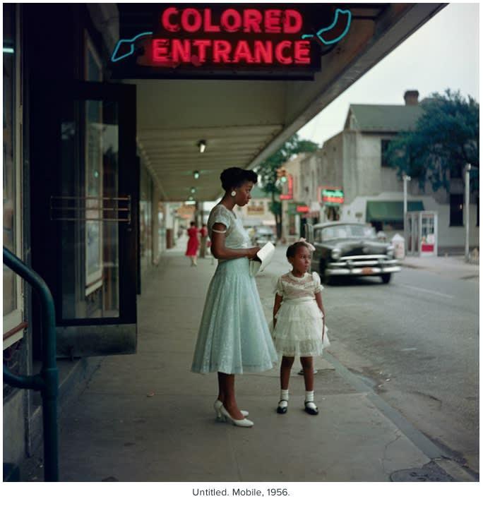 Gordon Parks Department Store, Mobile, Alabama, 1956