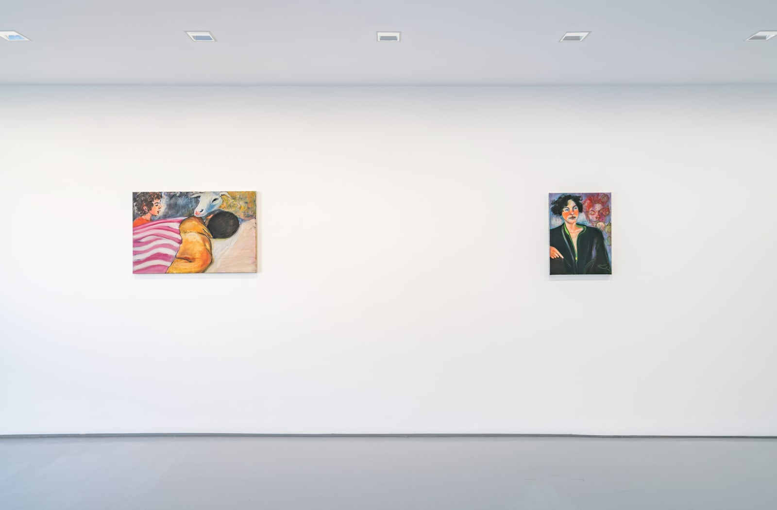 Rosalind Nashashibi, solo exhibition, 2020, GRIMM Van Baerlestraat installation view