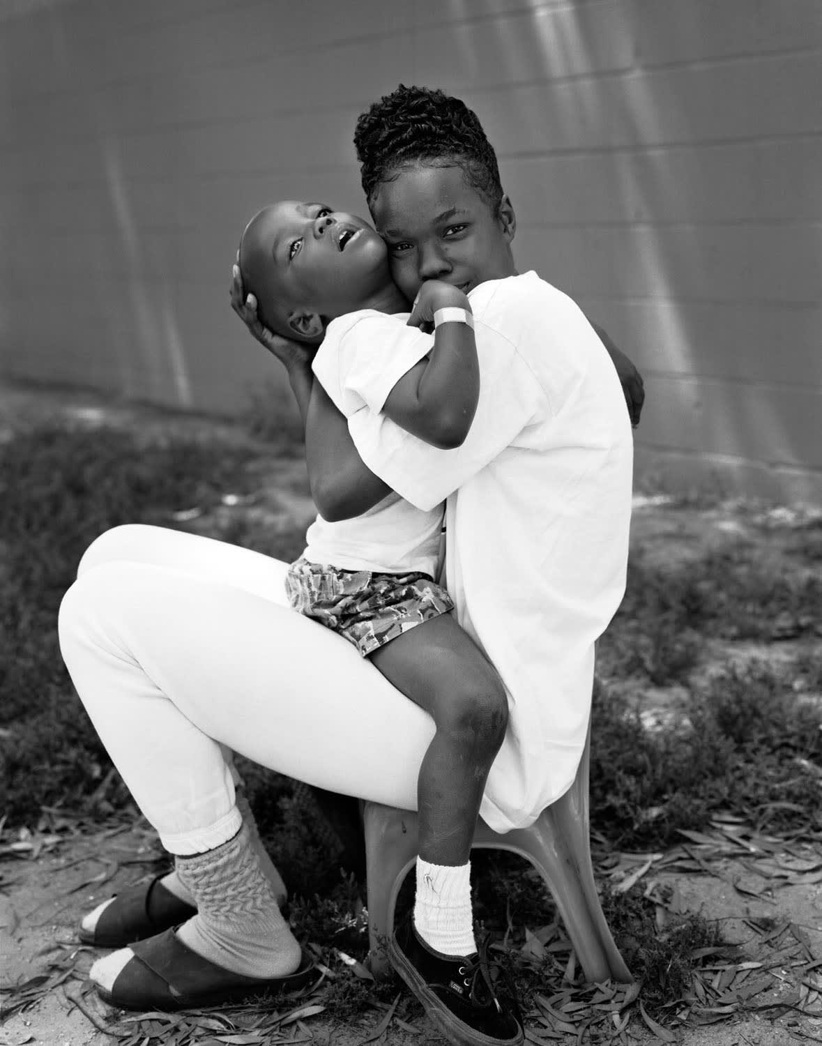 Miyong with her son Anthony, 1993 From the series: Imperial Courts, 1993-2015