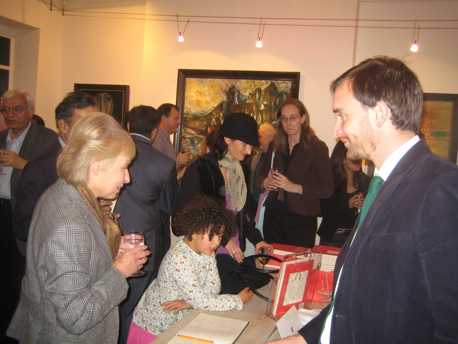 FN Souza, Grosvenor Gallery, 2005