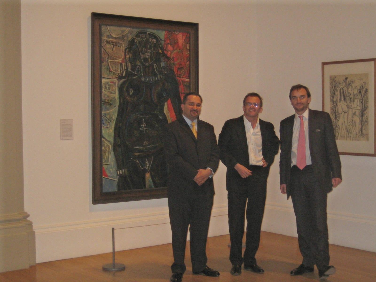 Francis Newton Souza at Tate Britain, 2005