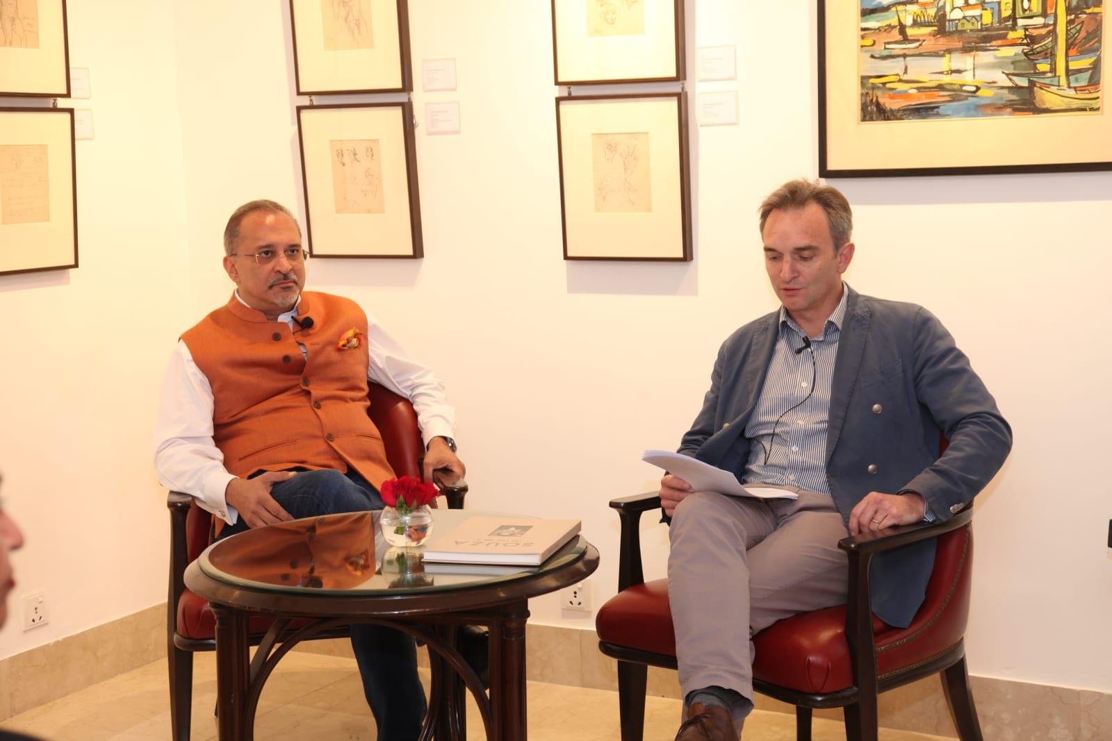 Souza in the 40s, Saffronart, New Delhi Dinesh Vazirani and Conor Macklin
