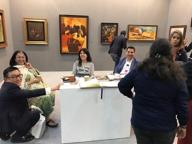 Boon Hui Tan, Kiran Nadar, Abha Housego, Dara Mehta