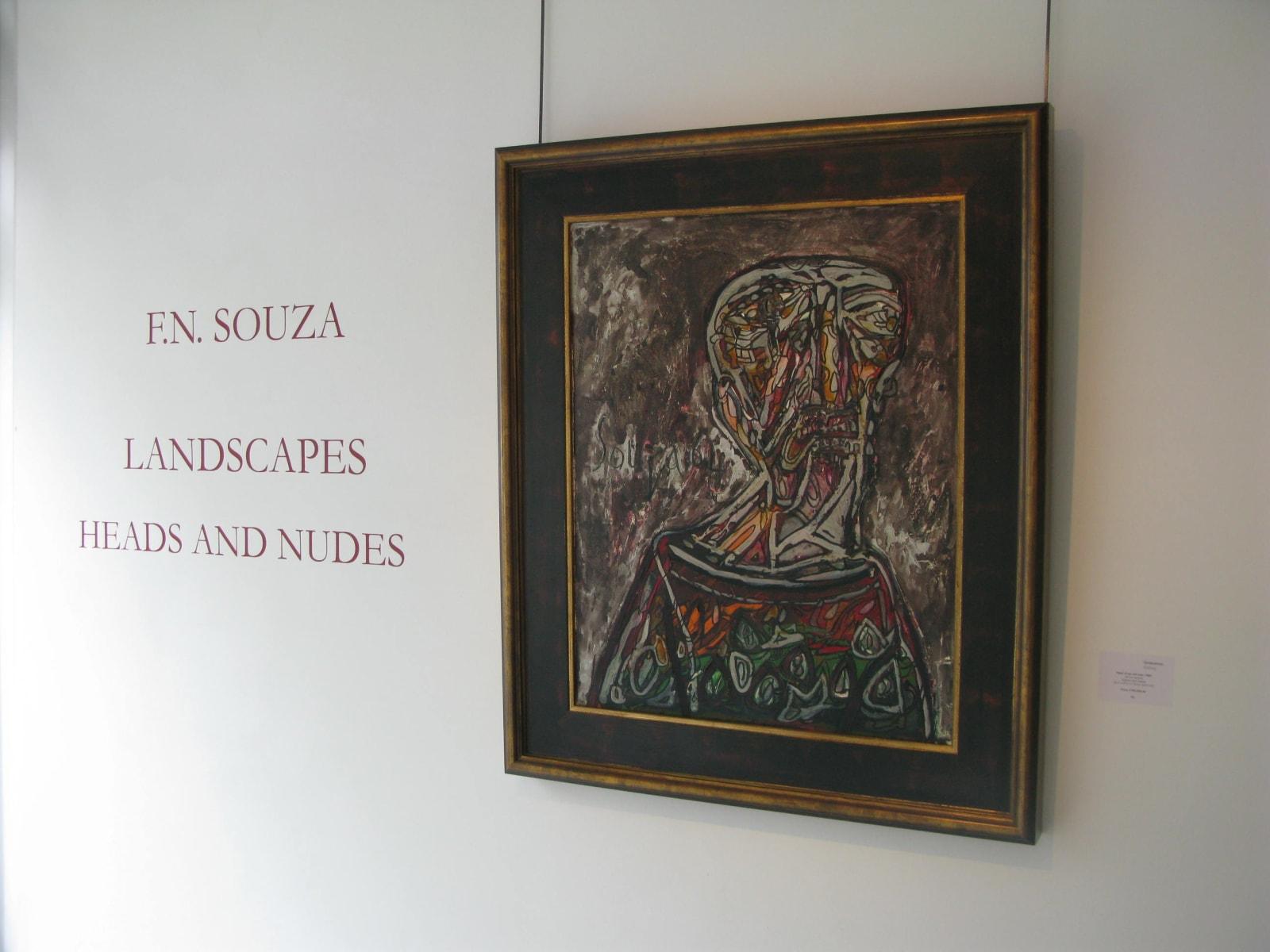 FN Souza, Heads/Landscapes/Nudes