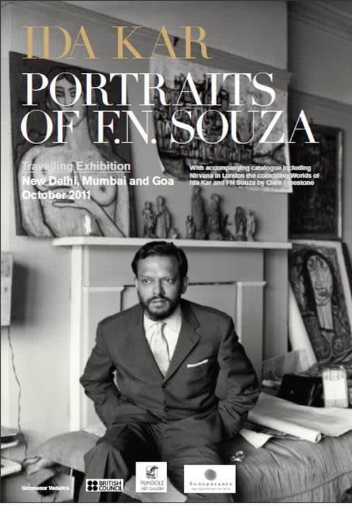 Ida Kar, Portraits of F.N. Souza, 1957-1961